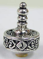 Sterling Silver Mini Round Dreydle