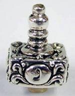 Sterling Silver Mini Square Dreydle
