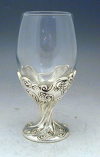 Sterling Silver Kiddush Cup Goblet