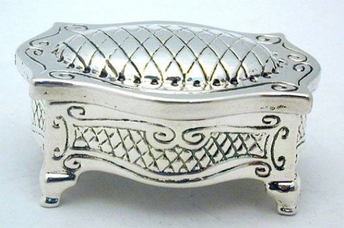 Sterling Silver Lime Citron Box