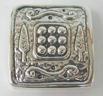Sterling Silver Cypress Brooch