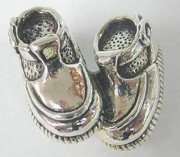 נעליים קטנות מיניאטורה מכסף טהור