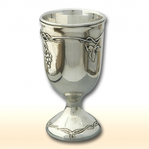 Silver  Grapes Cup