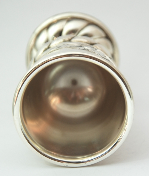 Silver Elijahu Kiddush Cup
