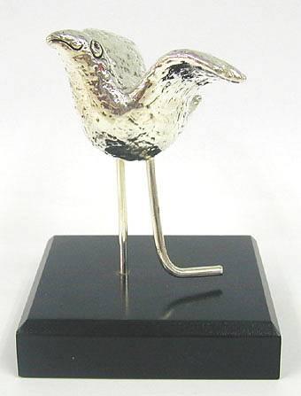 Sterling Silver Peace Dove Statuette