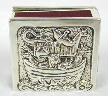 Sterling Silver Noah´s Ark Match Boxes