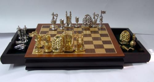 Shabath Shalom Chess Set