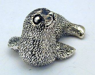 Sterling Silver Baby Seal Miniature