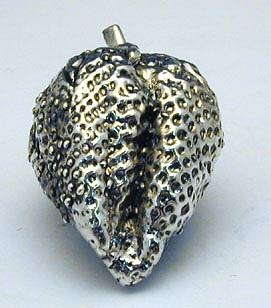 Sterling Silver Strawberry Miniature