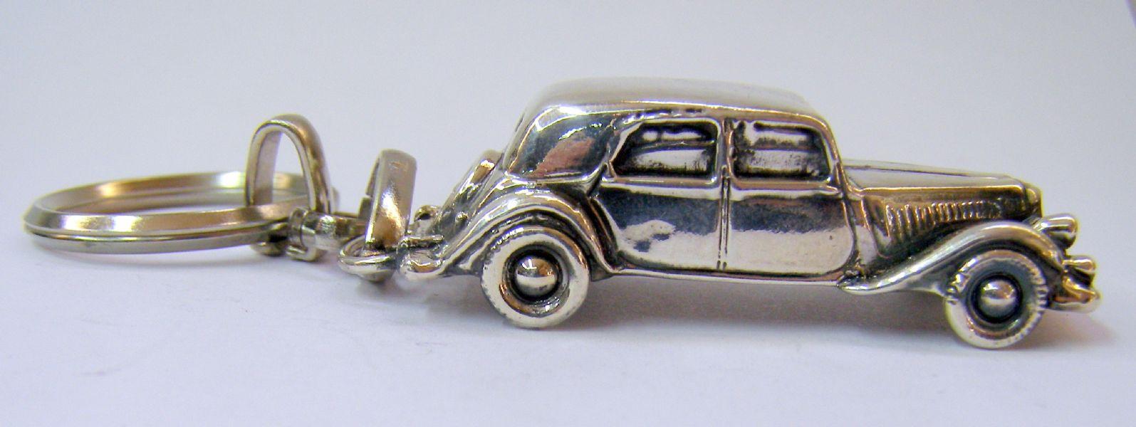 Antique Car Key Chain