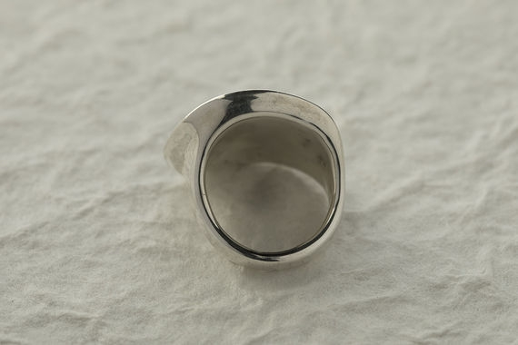 Silver Dots Ring