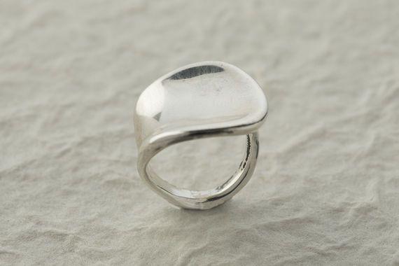 טבעת חלקה חלקה