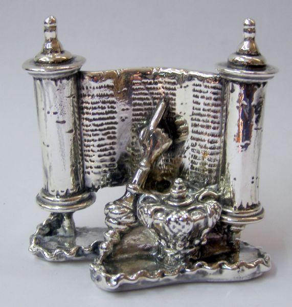 Silver Megilath Ruth Miniature