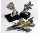 Silver Phantom F-4 Navigator Stick