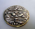 Sterling Silver Typical Round Brooch