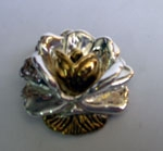 Sterling Silver Rose Brooch