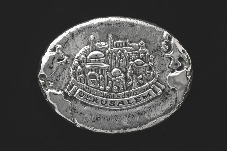 Sterling Silver Jerusalem