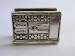 Sterling Silver Stone Tablets Match Holder
