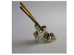 מחזיק עטים נעל של נסיכה מכסף טהור