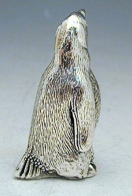 Sterling Silver Penguin Miniature