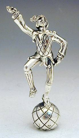 Sterling Silver   Joker Miniature