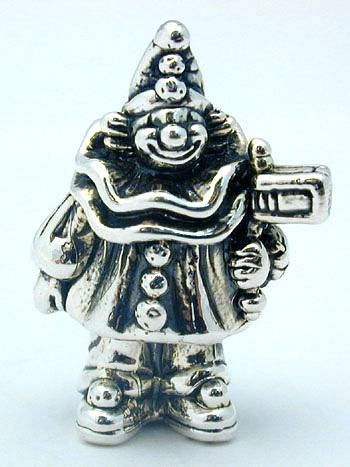 Sterling Silver Small Clown