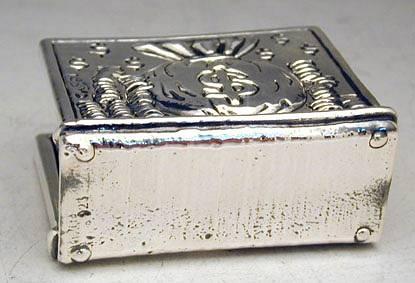 Sterling Silver Bank Business Card Holder