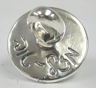 Sterling Silver Frog Prince Baby Pacifier