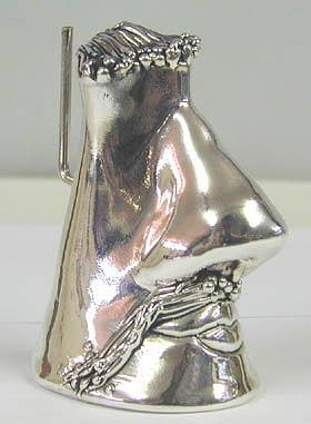 Sterling Silver Eye Glass Holder