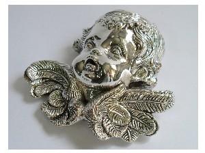 Silver Head Of Angel