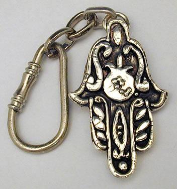 Hamsa Key Chain