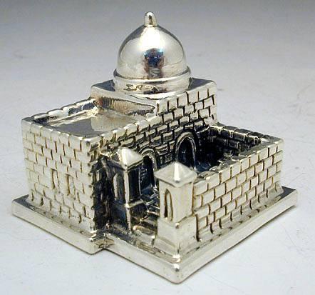 Sterling Silver Rachel´s Tomb Miniature