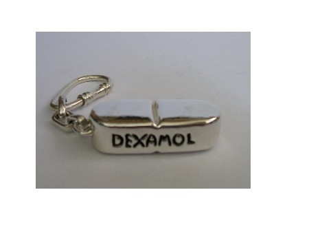Medical Capsule Keyring