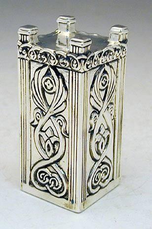מזבח בית המקדש מיניאטורה מכסף טהור