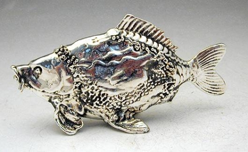Sterling Silver Fish Miniature
