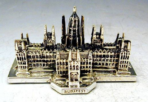Sterling Silver Hungarian Parliament Miniature