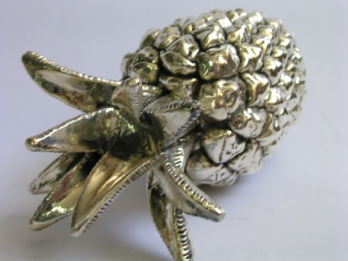Sterling Silver Pineapple