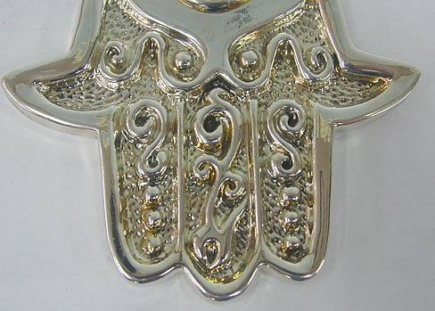 Sterling Silver Middle-sized Hamsah