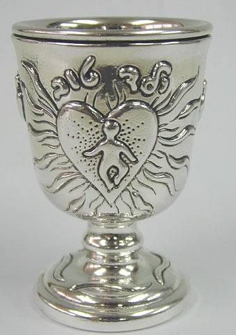 Sterling Silver Bar Mitzva Kiddush Cup