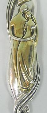Sterling Silver Marriage Mezuzah
