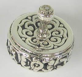 Sterling Silver Yemenite Round Dreydle
