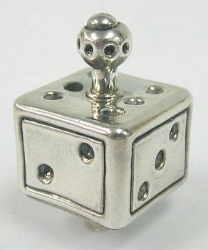 Sterling Silver Cubic Dreydle