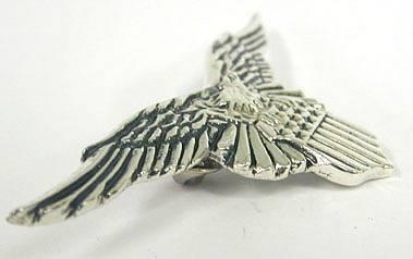 Sterling Silver Big eagle Brooch