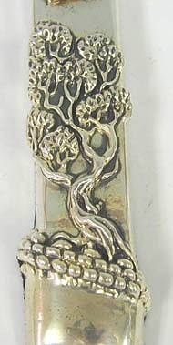 Sterling Silver Live Tree Mezuzah