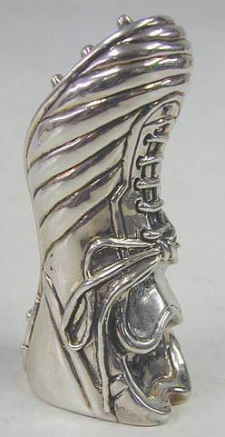 Sterling Silver Soccer Shoe Penholder / Paperweight