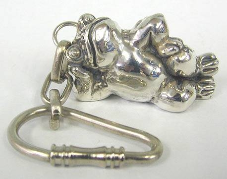 Sterling Silver Frog