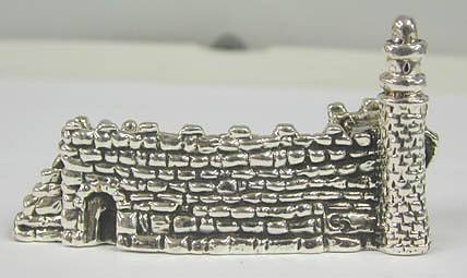 Sterling Silver Old Jerusalem Card Holder