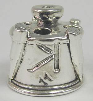 Sterling Silver Alphabetic Penholder