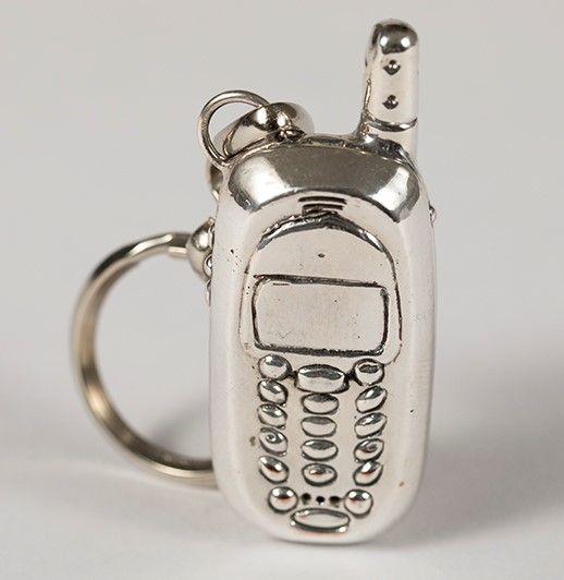 Cellular Phone Key Ring
