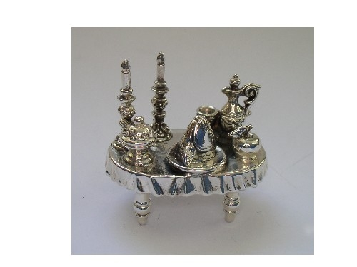 Sterling Silver Rosh Hashanah Table